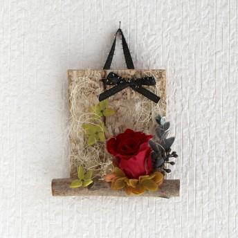 壁飾り*コラージュ 『バラ/バーガンディ』 HBL-CL01