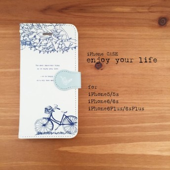 【iPhone/Android対応】「enjoy your life」