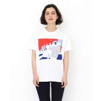 [マルイ] 【ユニセックス】コラボレーションTシャツ/カリンブランコウィッツ(ルゴートシュクルドラモール)/グラニフ(graniph)