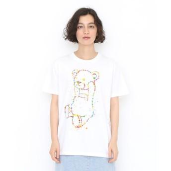 [マルイ] 【ユニセックス】ベーシックTシャツ(ドリッピングコントロールベア)/グラニフ(graniph)
