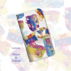 iPhone専用ケース/CAMERA/POP/A