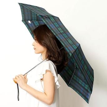 [マルイ]【セール】雨傘(折りたたみ傘/ミニ傘)【英国王室御用達】チェック(婦人/レディース)/フルトン(FULTON)