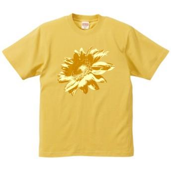 ひまわりTシャツ イエロー