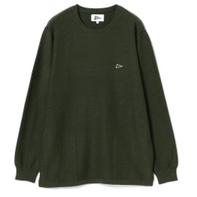 Pilgrim Surf+Supply / Onshore Crew Neck Sweater メンズ ニット・セーター PINE XS