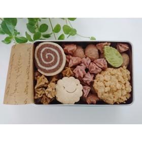 「卵・グルテン・乳製品・白砂糖0ゼロ!」プレミアムクッキー缶(S)
