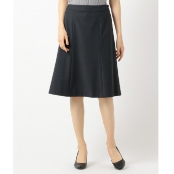 J.PRESS / ジェイプレス 【スーツ対応】BAHARIYEネイビー スカート