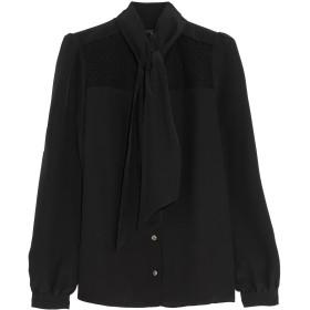 《セール開催中》VANESSA SEWARD レディース シャツ ブラック 42 シルク 100%