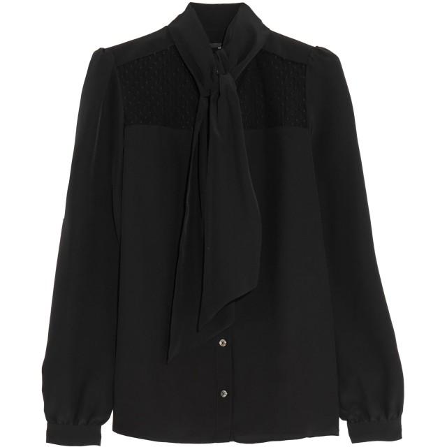 《期間限定 セール開催中》VANESSA SEWARD レディース シャツ ブラック 42 シルク 100%