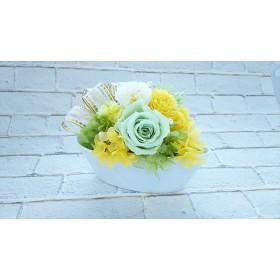 ナチュラルグリーン【プリザーブドフラワー】母の日入学祝い結婚祝い退職祝いギフト 贈り物