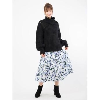 CECIL McBEE セシルマクビー 花柄プリーツスカート