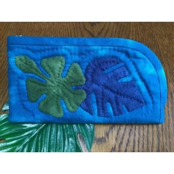ハワイアンキルト 財布