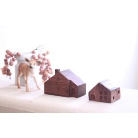小さな木の家 ーヨーロッパの民家24ー