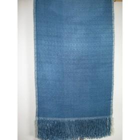 藍染め正絹手織りショール