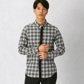 [マルイ]【セール】チェックスウェードシャツ【WEB限定カラー有り】/コムサメン(COMME CA MEN)