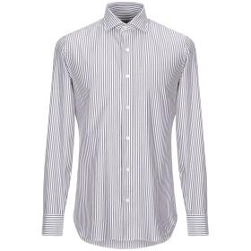 《セール開催中》SALVATORE PICCOLO メンズ シャツ ドーブグレー 41 コットン 100%
