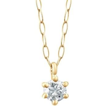 [マルイ] 【WEB限定】K18 イエローゴールド ダイヤモンド ネックレス (0.06ct)/エステール(ESTELLE)