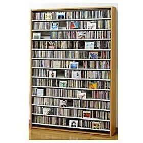 7b915b8190 CDラック おしゃれ DVDラック ロータイプ 大容量 CD 収納 ディスプレイ ...