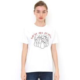 [マルイ] 【ユニセックス】ベーシックTシャツ/スケアード/グラニフ(graniph)