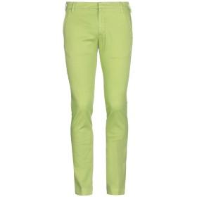 《期間限定セール開催中!》ENTRE AMIS メンズ パンツ ライトグリーン 32 コットン 97% / ポリウレタン 3%