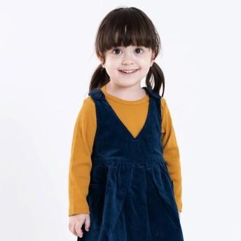 [マルイ]【セール】SHIPS KIDS:ベビー リブ クロス カラー カットソー(80-90cm)/シップス キッズ(SHIPS KIDS)