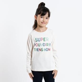 [マルイ]【セール】SHIPS KIDS:グリッター プリント TEE(100-130cm)/シップス キッズ(SHIPS KIDS)