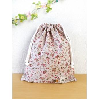 巾着袋(花柄)