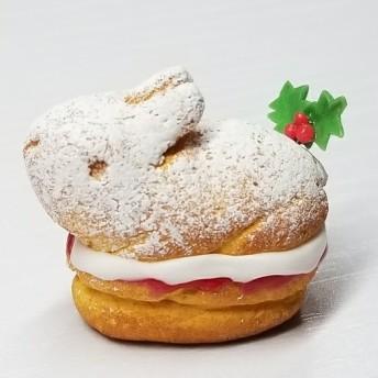 うさぎのヴィクトリアサンドケーキ・クリスマス(ミニチュアスイーツ)