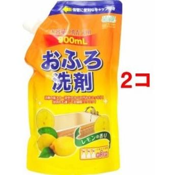 アドグッド エコグッド おふろ洗剤 大容量つめかえ用 レモンの香り(900ml2コセット)[お風呂用洗剤(つめかえ用)]