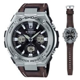 カシオ (国内正規品)G-SHOCK(ジーショック) G-STEELGショック ソーラー電波時計 メンズタイプ GST-W130L-1AJF 返品種別A
