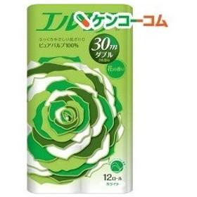 エルモア トイレットロール 花の香り ダブル 2枚重ね30m ( 12ロール )/ エルモア