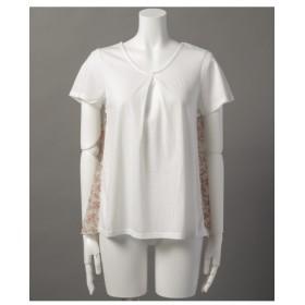 65%OFF Ray Cassin×FRAMES Ray Cassin (レイカズン×フレームスレイカズン) 背中切替半袖Tシャツ オフ白