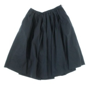 Pensee  / パンセ レディース スカート 色:黒 サイズ:38(M位)