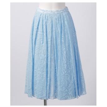 82%OFF Mademoiselle TARA (マドモアゼルタラ) スカート ライトブルー
