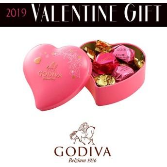 バレンタイン チョコレート ゴディバ G キューブ アソートメント ミニハート缶 5粒入 本命 チョコ