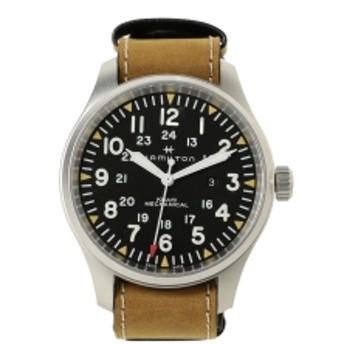 bPr BEAMS HAMILTON / Khaki Field Mechanical 50mm H69819530 3針ウォッチ メンズ 腕時計 BROWN ONE SIZE