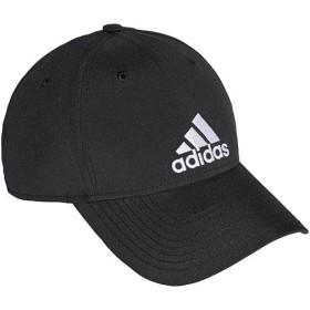 アディダス(adidas) メンズ レディース ロゴ キャップ EMB ブラック/ブラック/ホワイト BXA66 S98159 帽子 マルチスポーツ 日よけ スポーツウェア