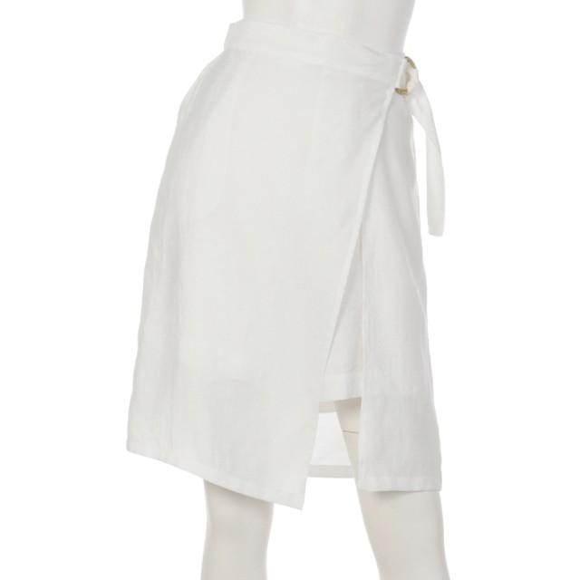 69%OFF ELLE (エル) スカート ホワイト