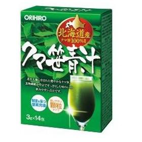 クマ笹青汁 ( 3g14包 )/ オリヒロ(サプリメント)