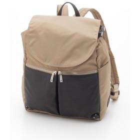 60%OFF Y'SACCS(bag) (イザック(バック)) コンビシリーズリュックサック ベージュ
