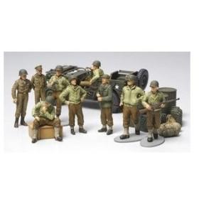 タミヤ(TAMIYA) 1/48 WWII アメリカ歩兵 前線休息セット(32552)プラモデル