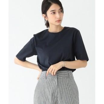 ATON / スビン パーフェクト ショートスリーブ Tシャツ レディース Tシャツ NAVY 02