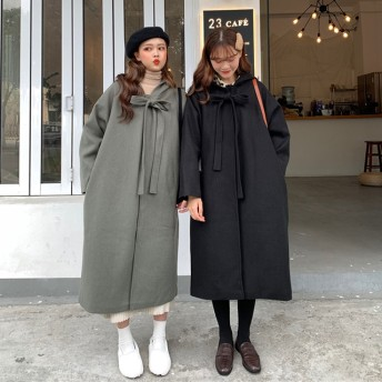 コート アウター ロングコート ロング ボンディング デイリー pコート 韓国 ブランド セール あったか ダウンコート 防寒 ロング 軽量 オールコート