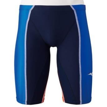 MIZUNO SHOP [ミズノ公式オンラインショップ] 競泳用FX・SONIC+ ハーフスパッツ[メンズ] 27 ブルー N2MB9030