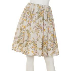 69%OFF INGRID OUTLET (イングリッドアウトレット) ボタニカルスカート オフホワイト