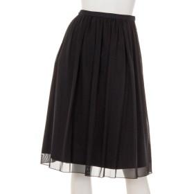 71%OFF VALKURE (ヴァルクーレ) メッシュロングスカート 黒