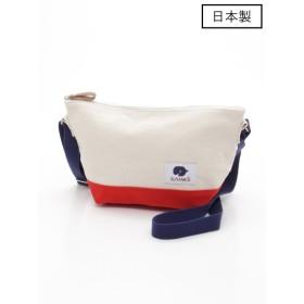 65%OFF SUNAMELi (スナメリ) 【日本製】キャンバスミニショルダーバッグ マルチF
