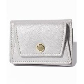 【LegatoLargo】ボンディンググレインフェイクレザー三つ折りミニ財布