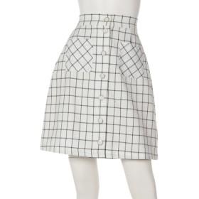 28%OFF amelier MAJESTIC LEGON (アメリエルマジェスティックレゴン) 台形スカート アイボリー柄