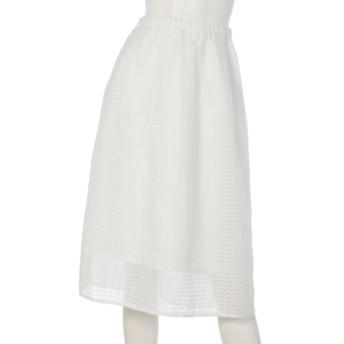 79%OFF ELLE (エル) スカート ホワイト