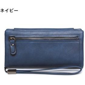 12565dc8f0cd 長財布 - VIXY 9色 ストラップ 長財布 財布 大容量 ウォレット シンプル 多機能